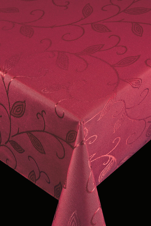 Flair Royal Tischdecke gesäumt Romance Red