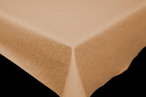 Flair Classic Tischdecke gesäumt droplet Lachs