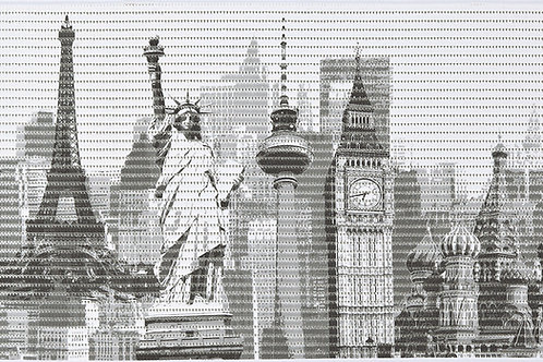 Motivmatte Art.77749 Cities