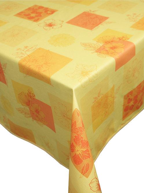 Flair Tischdecke eingefasst Hibiscus