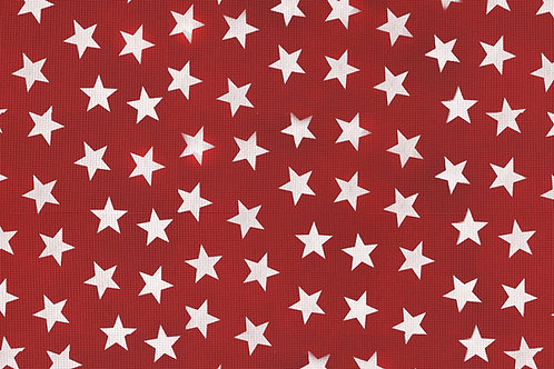 Tischset Miami Art.40505 Little Stars Red White