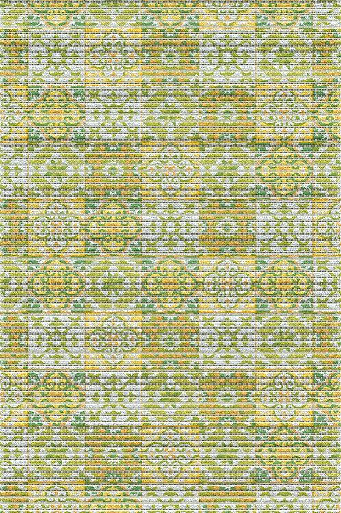 Sympa Nova 71258 Tile  Antique Yellow Green