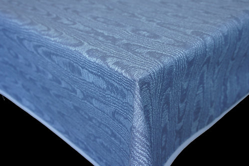 Flair Tischdecke eingefasst Blue