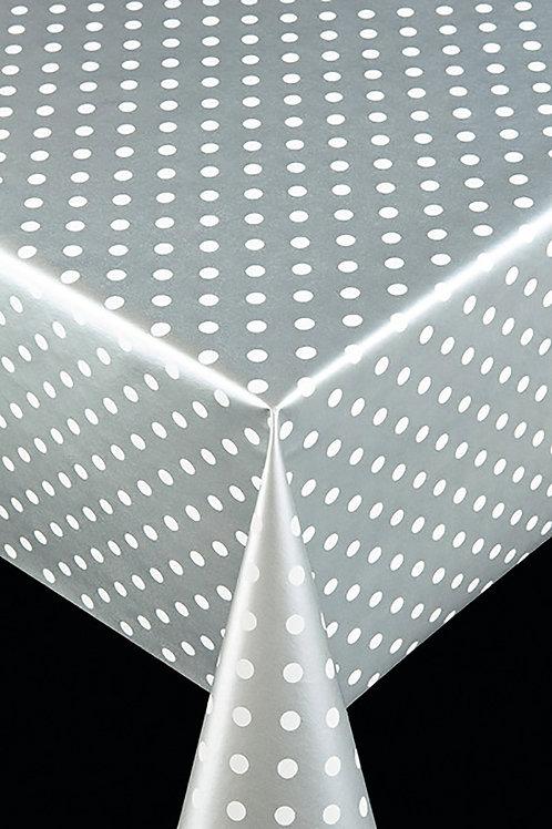Trend 64010 Polka Silver Breite: 140 cm