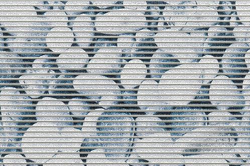 Motivmatte Art.77710 Stones