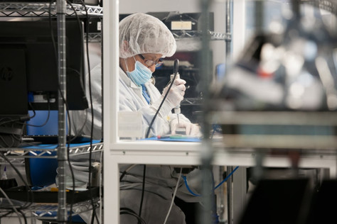 OPTICAL DEVICE MANUFACTURER CLEAN ROOMS