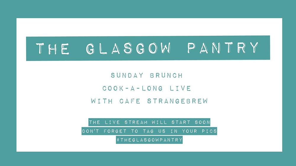 Cafe Strange Brew Cook-a-long