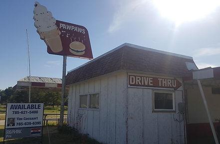 drive thru outside