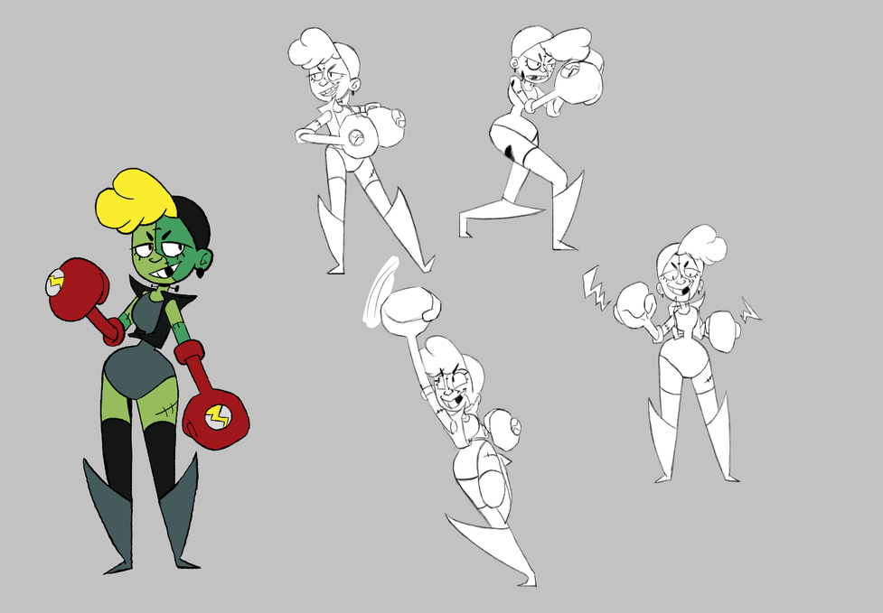 Franny Stein Pose Sheet