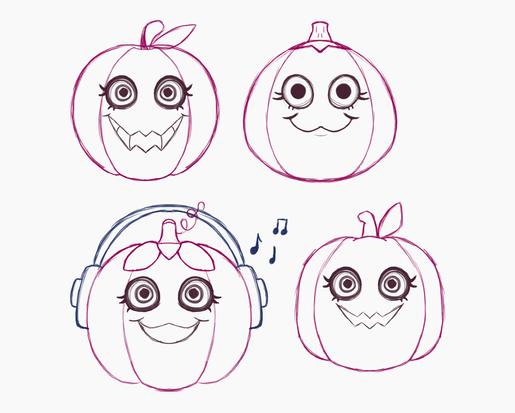 Pumpkin Sketches