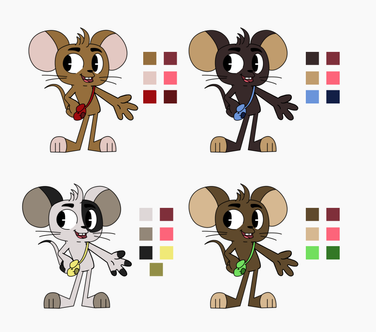 El Raton Color Variations