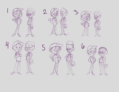 B Boys Sketches