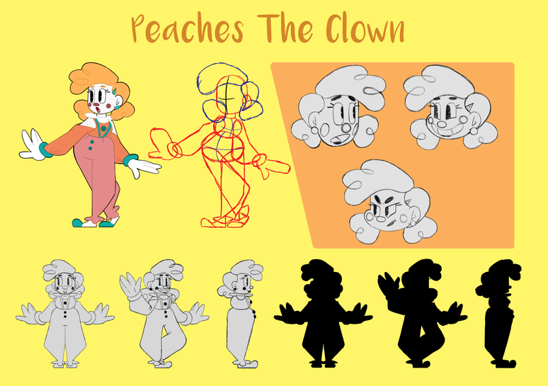 Peaches the Clown