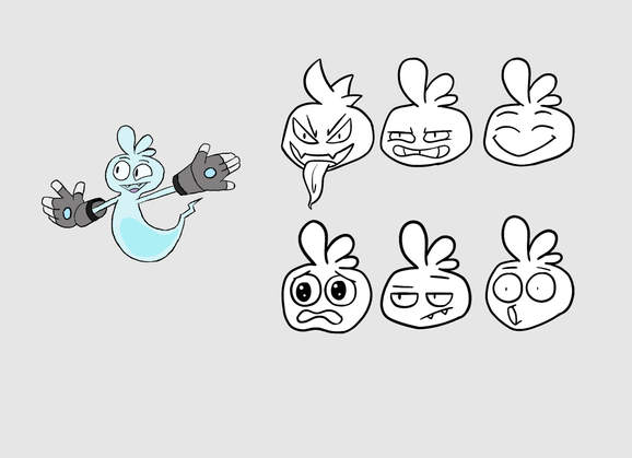 Whisper Expression Sheet