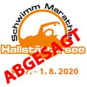 Logo Schwimmmarathon mit Datum 2020 abge