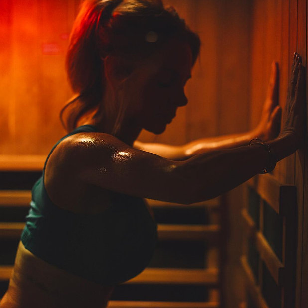 Researchshows that regular use of an infrared sauna imparts a similar stress on the cardiovascular system as that of running