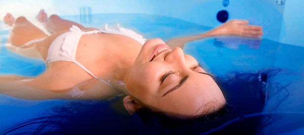 Float Therapy induces a sense of of weightlessnessthat reduces pressure on the spine and relives tension in the muscles, joints and soft tissue
