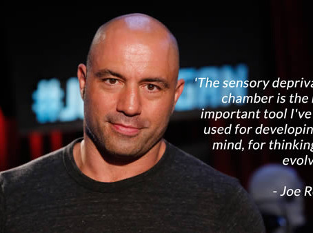 World famous comedian, actor & UFC commentator Joe Rogan discusses the benefits of Float Therapy