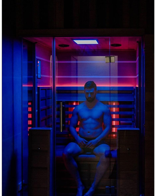 Infrared sauna sessions have been proven to improve sleep patterns.