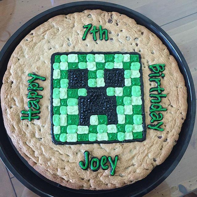 Happy 7th Birthday Joey!! #minecraft