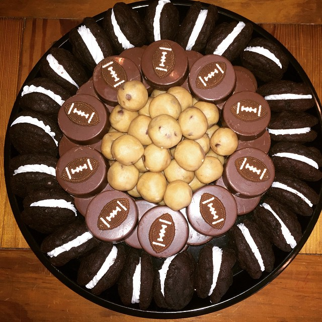 Super Bowl platter..