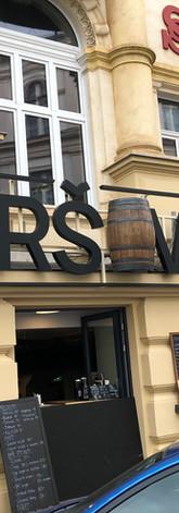 Logo nad restauraci Tyršovka