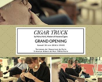 Cigar Truck Açılış Davetiye