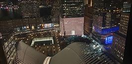 11 Eylül Anıt Alanı Gece Görünüşü