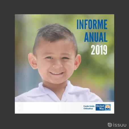 ¡Ya está disponible nuestro informe anual 2019!
