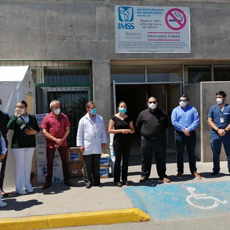 Gasolineras ARCO  realiza donativo a nuestro Fondo de Emergencia COVID-19