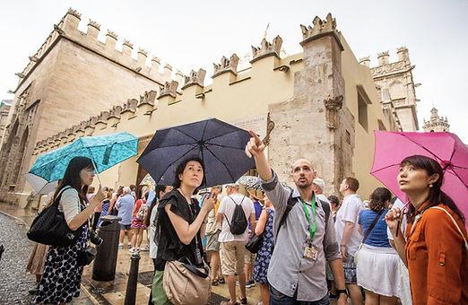 Visitas guiadas Valencia. Turistas japoneses