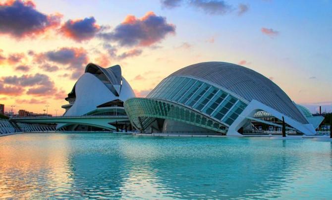 バレンシアと世界の架け橋となった芸術科学都市