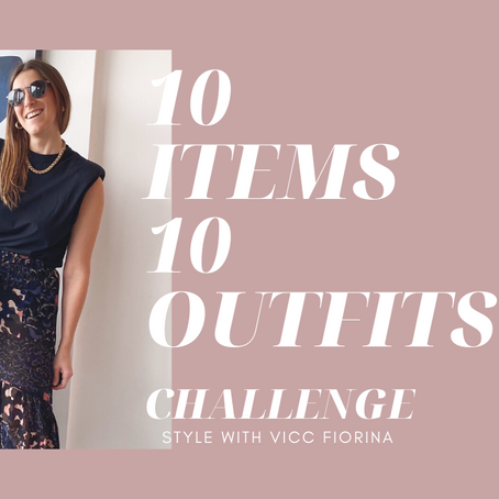 ✨10 Items 10 Outfits Challenge✨