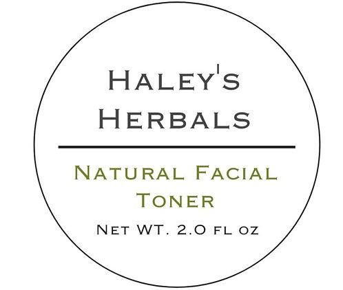 Natural Facial Toner (2 oz)