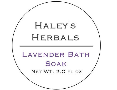 Lavender Bath Soak (2 oz)