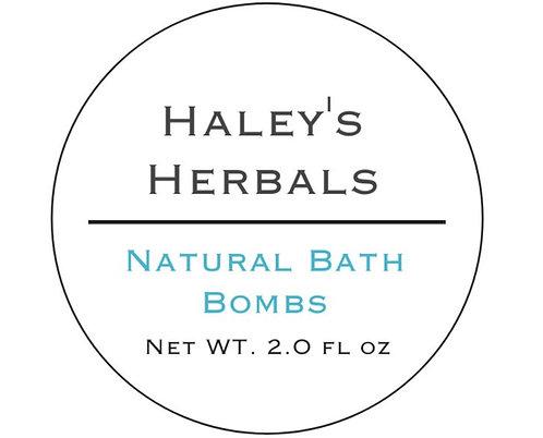 Natural Bath Bombs (2 oz)
