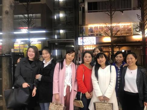 中国実習生のお別れ会