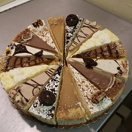 Assorted Cheese Cake Slices - Platter