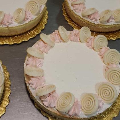 """Strawberry Cheese Cake - Round 10"""""""