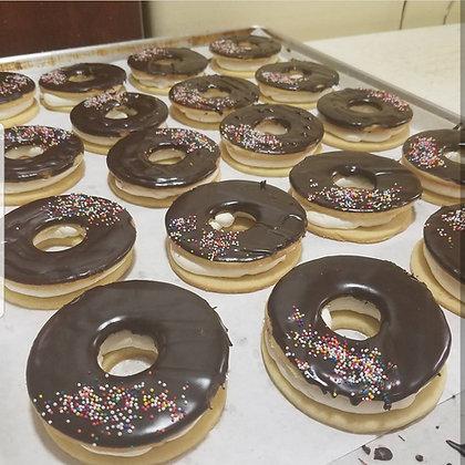 Donut Cookie Custard