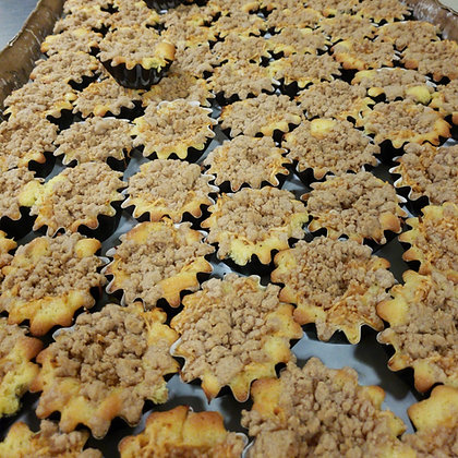 Apple Custard Muffins