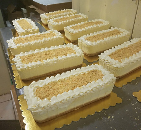 "Napoleon Cheese Cake - Rectangle 10"""