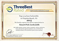 2015 Top Three Locksmiths