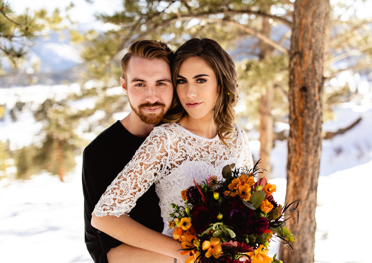 Styled Winter Elopement RMNP - Taylor Ni