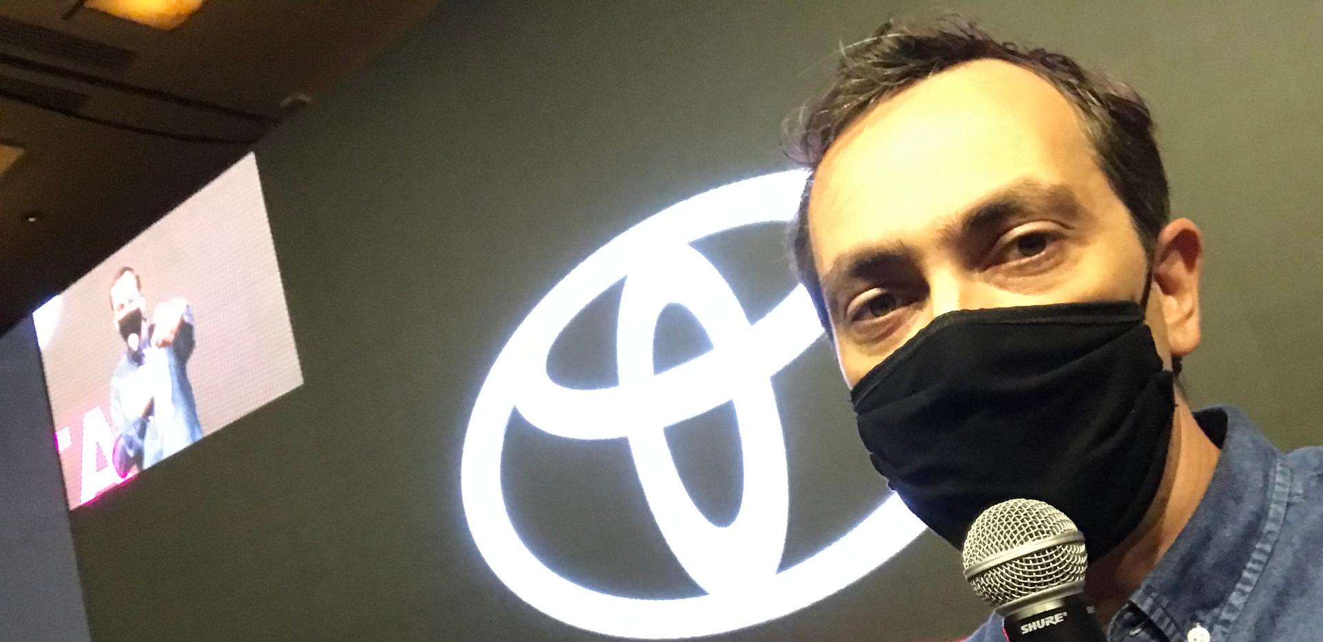 Evento Hibrido Toyota Ensaio Diretor Artistico Fernando Ordones