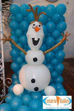 Olaf Frozen Baloes