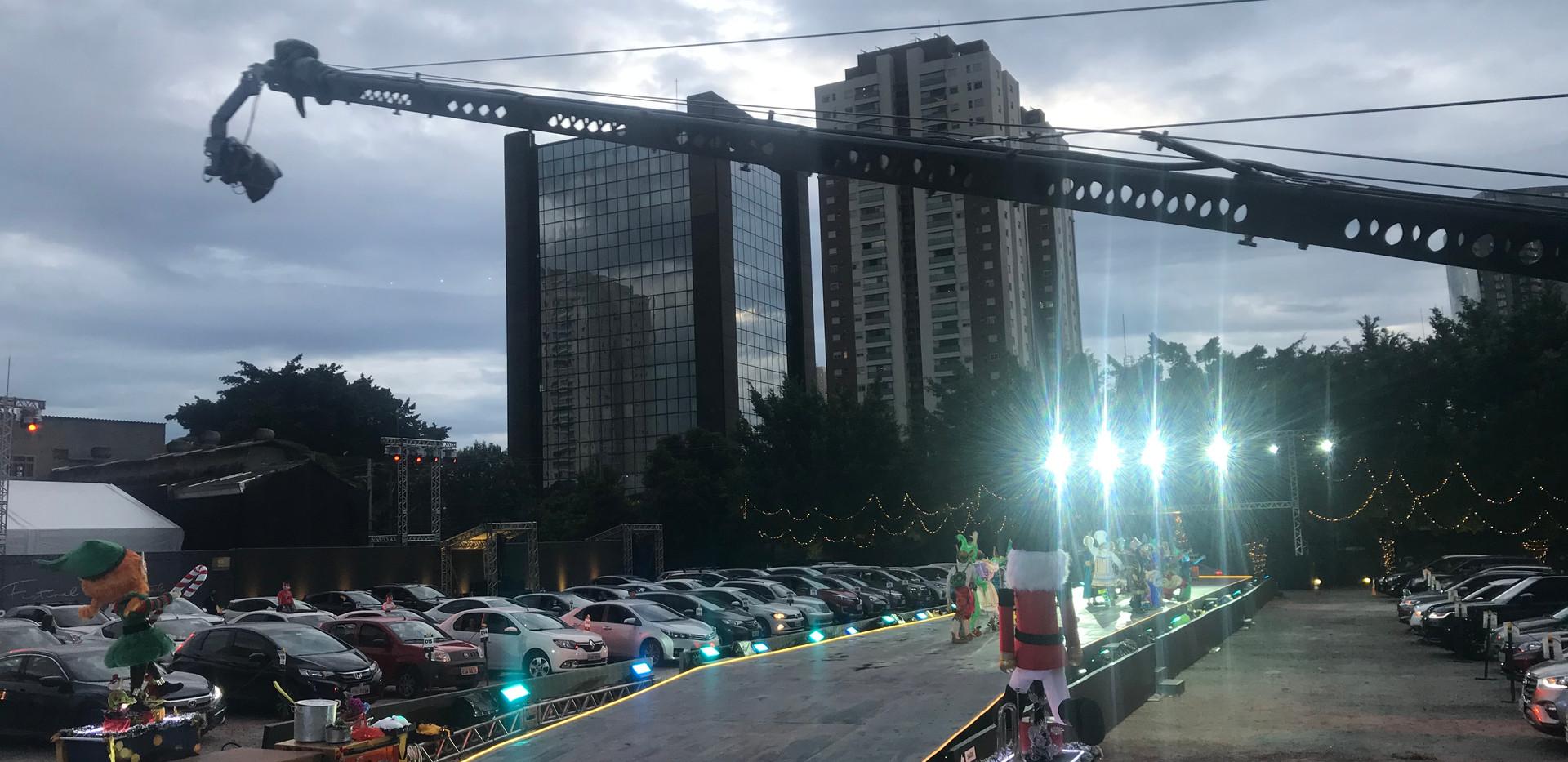 Espetáculo Natalizo Itaú Personalite Drivein