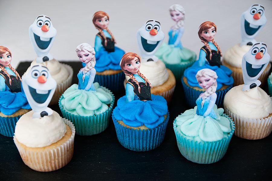Cupcake Frozen