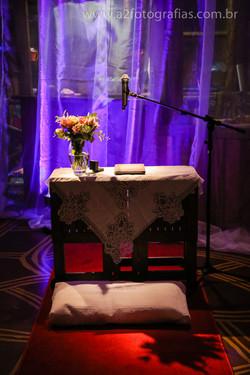 Altar para cerimônias