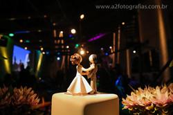 Topo do Bolo - Mini Wedding